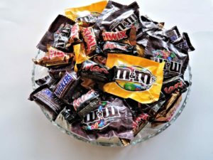 bowl full of chocolates