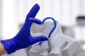 dental saliva instrument